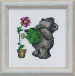 133356 Permin Teddy Watering Flower