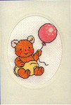 178440 Permin Teddy Bear With Balloon