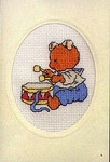 178449 Permin Teddy Bear With Drum