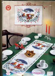 341211 Permin Christmas Table Runner