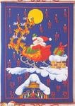 341214 Permin Santa Advent Calendar