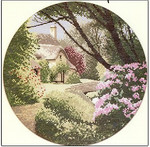 HCK287 Heritage Crafts Kit Secret Garden - the Circles by John Clayton
