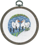 131360 Permin Kit Two White Ducks