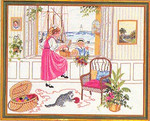 7712645  Eva Rosenstand Kit Window View of Seashore
