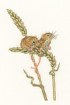 HCK1264A Heritage Crafts Kit Harvest Mice  Little Darlings by Peter Underhill