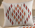 830645 Permin Modern Orange Pillow