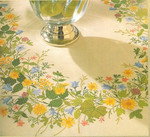 77124584 Eva Rosenstand Summer Floral Tablecloth