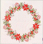77124068 Eva Rosenstand Poinsettia Tabletopper