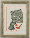 920142 Permin Kit Kitty w/fish