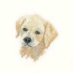 HCK1037 Heritage Crafts Golden Labrador Puppy by Valerie Pfeiffer