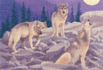 HCK1038 Heritage Crafts Wolves by John Clayton