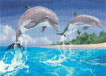 HCK1084 Heritage Crafts Dolphins - Power and Grace by John Clayton