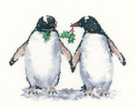 HCK1099 Heritage Crafts Christmas Penguins - Sue Hill Collection