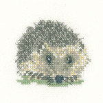 HCK1136A Heritage Crafts Hedgehog  Little Friends Collection by Valerie Pfeiffer and Susan Ryder