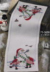 753656 Permin Build a Snowman  Table Runner