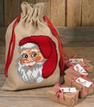 905217 Permin Santa Face - Gift Bag