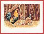 7712996 Eva Rosenstand Kit Rooster & Chickens