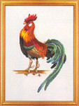 7714123 Eva Rosenstand Kit Proud Rooster