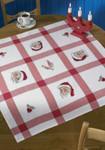 440522 Permin Christmas Tablecloth