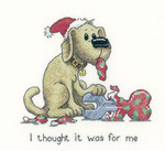 "HCK1108A Heritage Crafts Kit Oh Dear - It's a Dog's Life by Peter Underhill 4.5"" x 5.25""; Aida; 14ct"