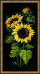 RL1056 Riolis Cross Stitch Kit Sunflowers