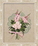 RL1073 Riolis Cross Stitch Kit Bouquet of Tenderness