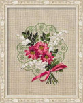 RL1074 Riolis Cross Stitch Kit Bouquet of Love