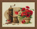 RL1121 Riolis Cross Stitch Kit Coffee