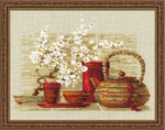 RL1122 Riolis Cross Stitch Kit Coffee