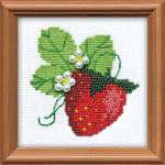 RL1165 Riolis Cross Stitch Kit Garden Strawberry
