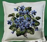 837082 Permin Pansy Pillow