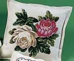 837081 Permin Flower Pillow