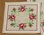 101681 Permin Kit Roses Tablemat
