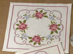 109666 Permin Kit Roses Tablemat