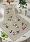 275770 Permin Kit Bullfinch Table Cloth (Lower)