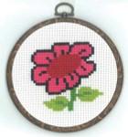 130331 Permin Flower w/frame