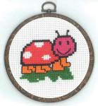 130332 Permin Ladybird w/frame