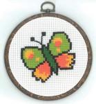 130333 Permin Butterfly w/frame