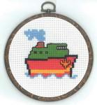 130335 Permin Ship w/frame