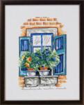 926166 Permin Flowers On Windowsill