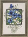 905363 Permin Blue Cornflowers