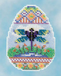 MH181612 Mill Hill Kit Dragonfly Egg (2016) Seasonal Ornament Kit