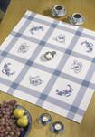 449564 Permin Kit Kitchen Motif Tablecloth