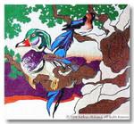 M-032 Nightshade 15.25 x 14 18  Mesh  Shorebird Studio