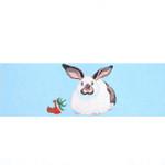 M-132b Child's Rabbit DirChair Back 18.75 x 6.25 13 Mesh Shorebird Studio