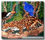 M-268a Machu Pichu Tapestry 30 x 27 13 Mesh Shorebird Studio