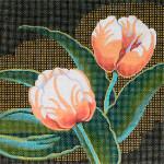 M-425 Squares: Tulips 9 x 9 14 Mesh Shorebird Studio