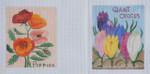 SP13 Poppies BB Needlepoint Designs 18 Mesh  Shown Left