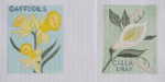 SP12 Daffodils BB Needlepoint Designs 18 Mesh 3 x 4 Shown Left
