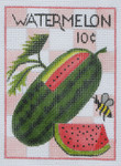 SP9 Watermelon BB Needlepoint Designs  18 Mesh  3x5
